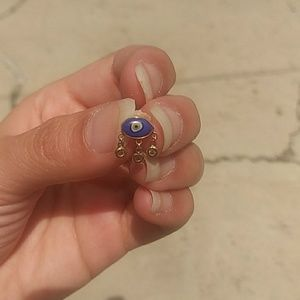 Jacquie Aiche ceramic eye single earring